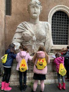 caccia al tesoro egizia al centro arte per bambini la mage