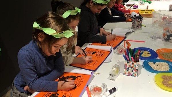 laboratorio moveat romani arte per bambini la mage